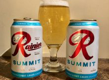 Rainier Summit, a new light lager from the iconic Rainier.