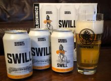 The 2019 version of Swill from 10 Barrel Brewing is available for the first time in 12oz cans.