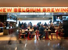 image of New Belgium Brewing at Denver International Airport courtesy of New Belgium Brewing