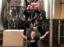 image of Pink Boots Society brewing Pelican Brewing Pink Boots India Pale Lager courtesy of Pelican Brewing