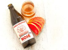 image of Rose Hard Cider courtesy of Double Mountain Brewery