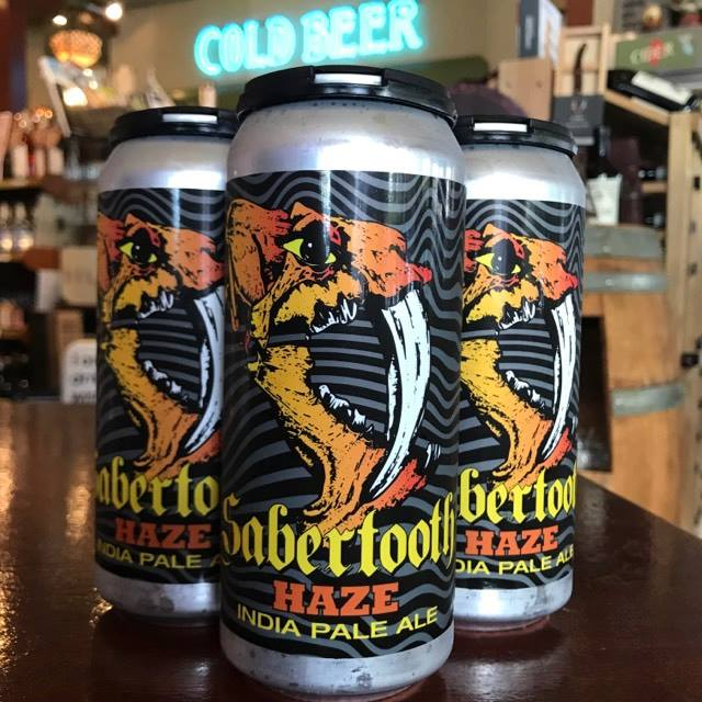 image of Sabertooth Haze India Pale Ale courtesy of McMenamins