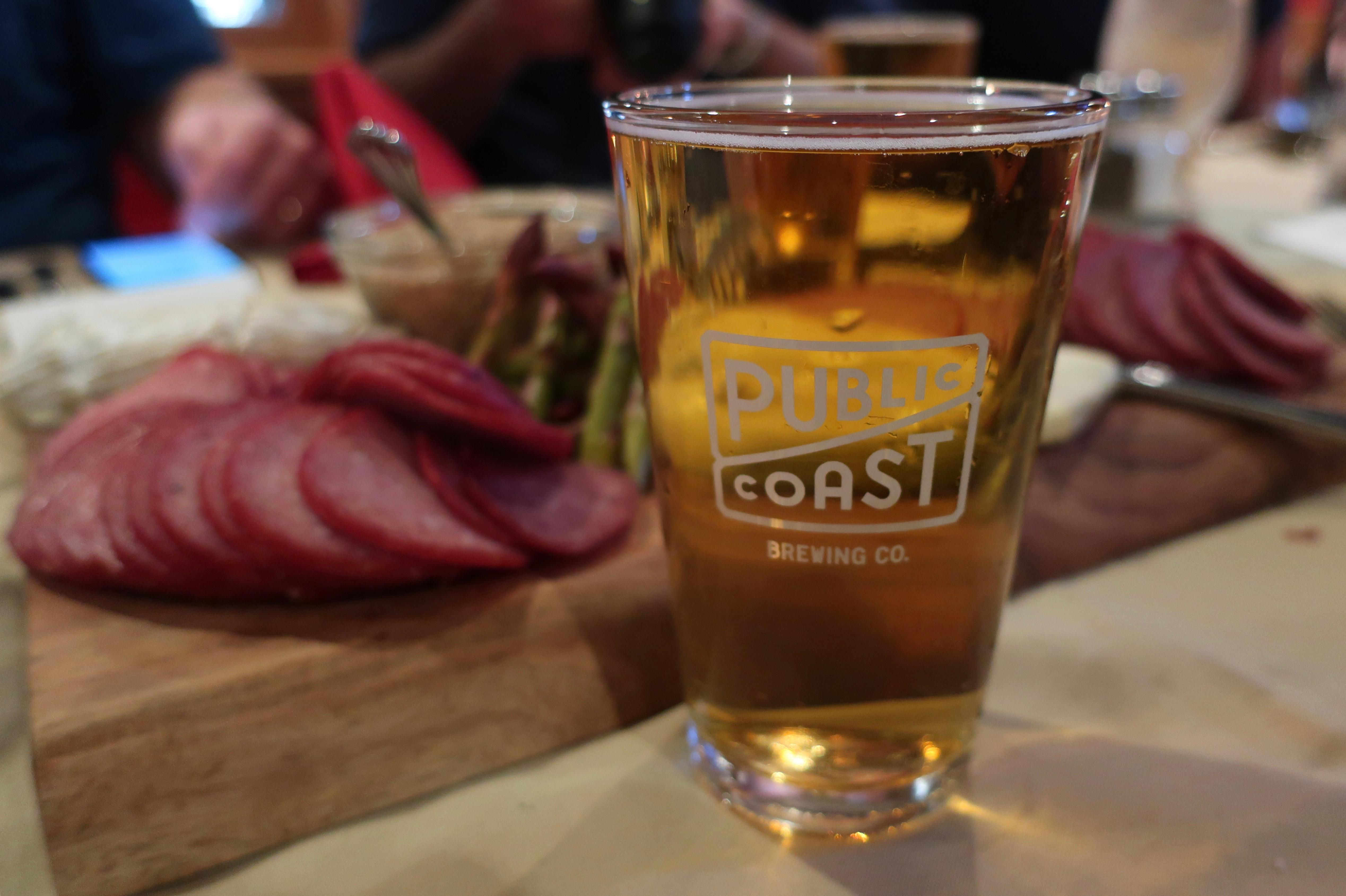 67' Blonde Ale at Public Coast Brewing.