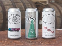 Baerlic Brewing Acid Drop, All Seeing IPA, and Rose City Park Pale Ale