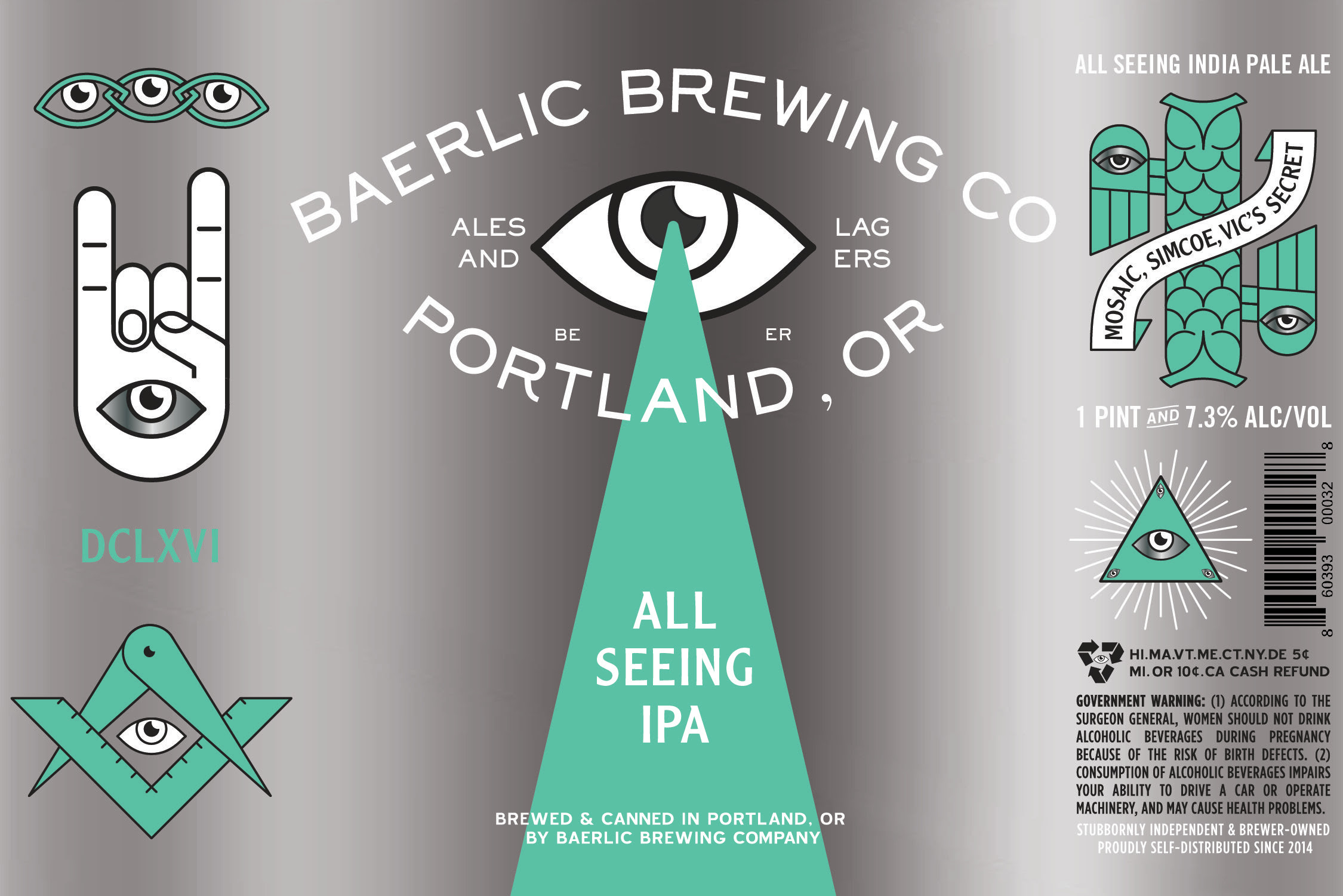 Baerlic Brewing All Seeing IPA