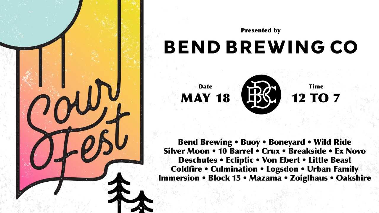 Bend Brewing 2019 Sour Fest Poster
