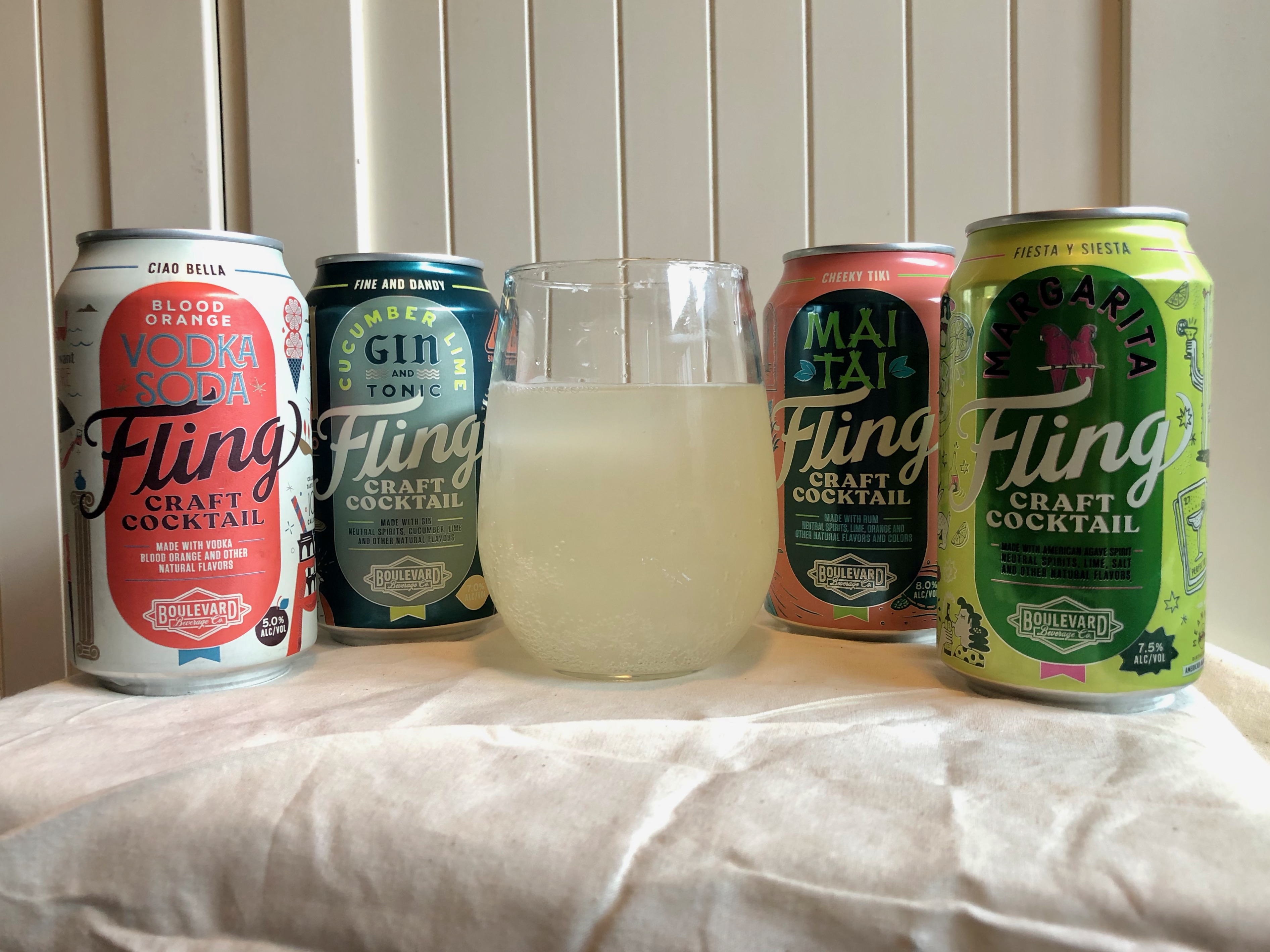 Celebrated Cinco de Mayo with a Margarita from Fling Craft Cocktail.