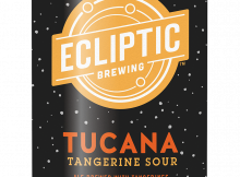 Ecliptic Brewing Tucana Tangerine Sour Ale Can