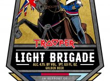 TROOPER Light Brigade Robinsons Brewery Iron Maiden