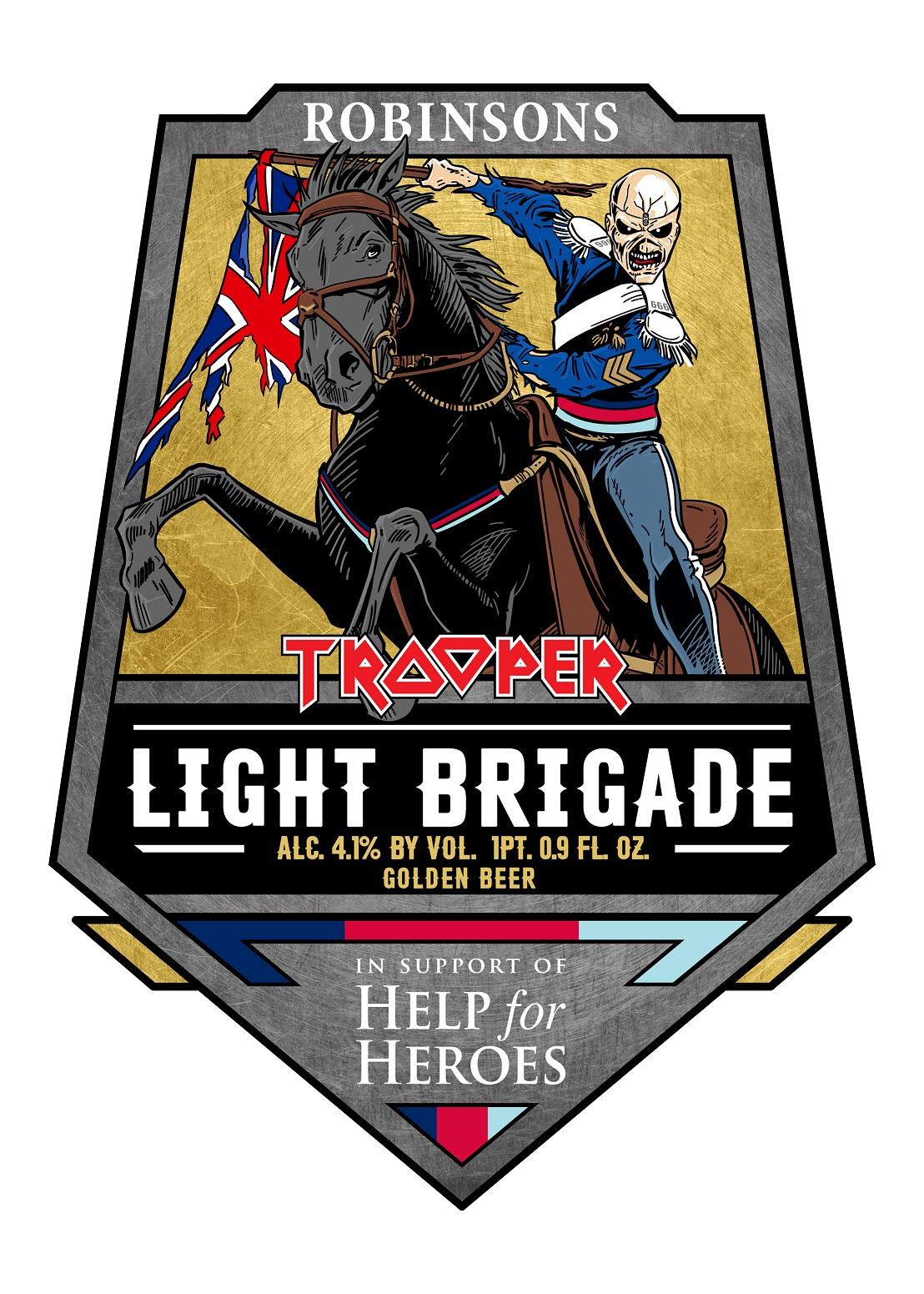 TROOPER Light Brigade Robinsons Brewery Iron Maiden