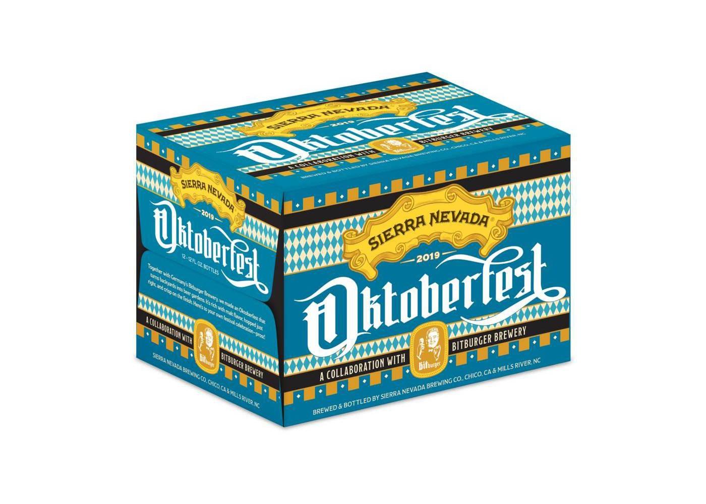 Sierra Nevada Brewing and Bittburger Brewery 2019 Oktoberfest Beer