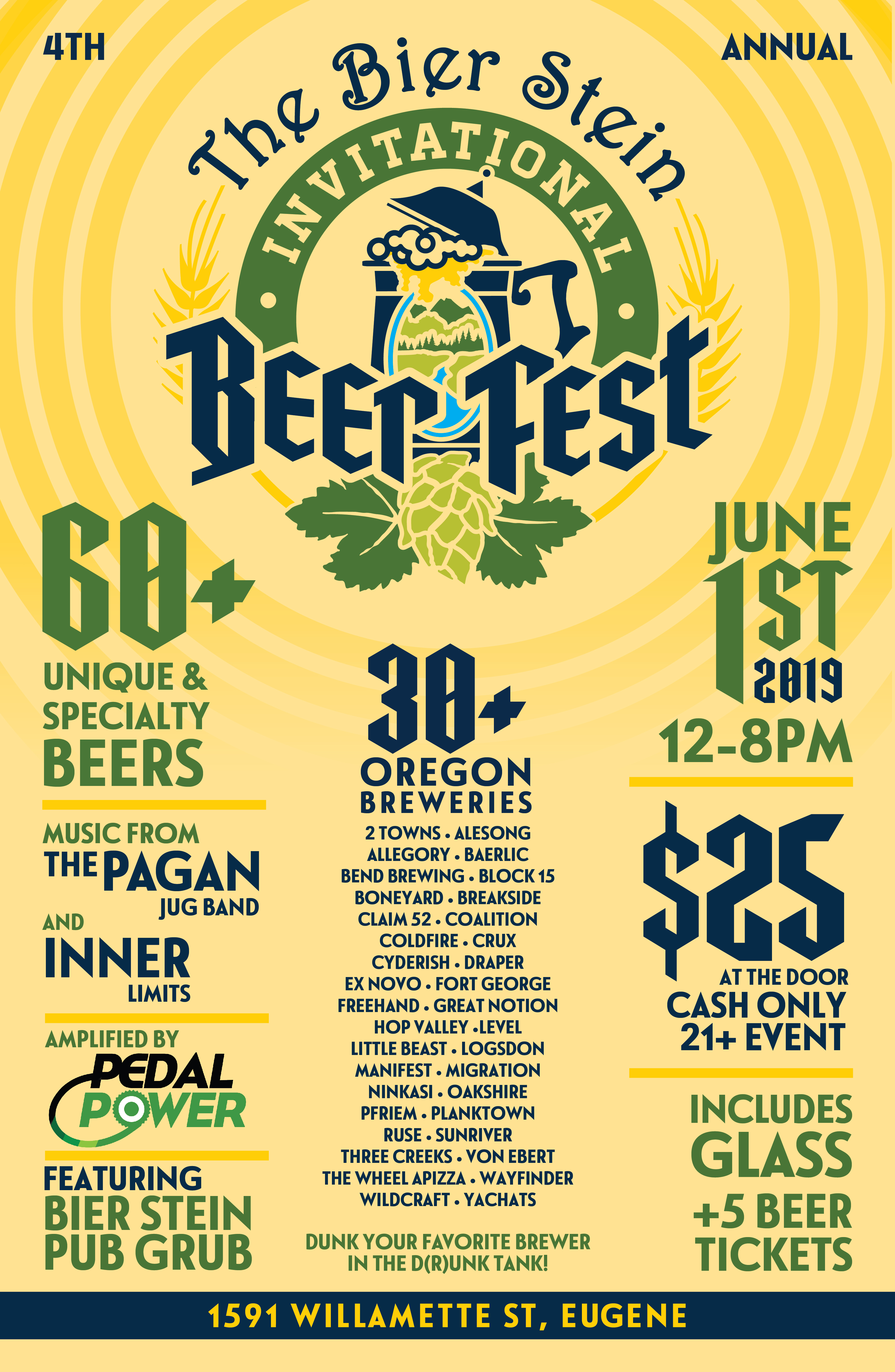 The Bier Stein Invitational Beer Fest - 2019
