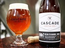 image of Cascade Brewing Bean to Barrel, brewed in collaboration with Mikkeller Beer courtesy of Cascade Brewing
