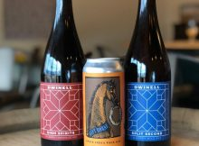 image of High Spirits, Gift Horse, and Split Second, courtesy of Dwinell Country Ales