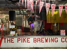 Pike Brewing Company's 29th Canniversary party.