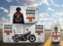 image of Voodoo Ranger Juicifer IPA courtesy of New Belgium Brewing