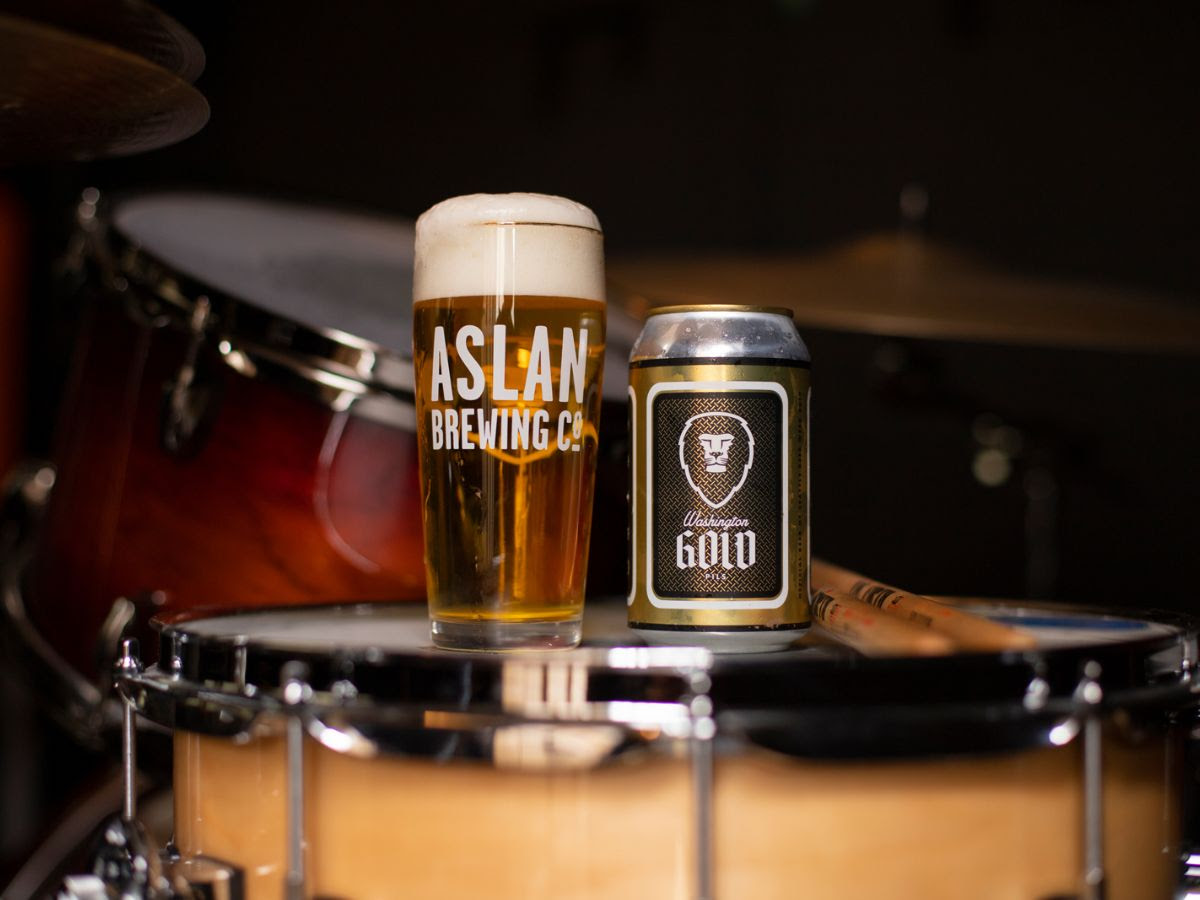 image of Washington Gold -- Official Seattle Beer Week Beer courtesy of Aslan Brewing