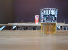 A Mikkeller Beer at the Mikkeller Pop-Up in Portland.