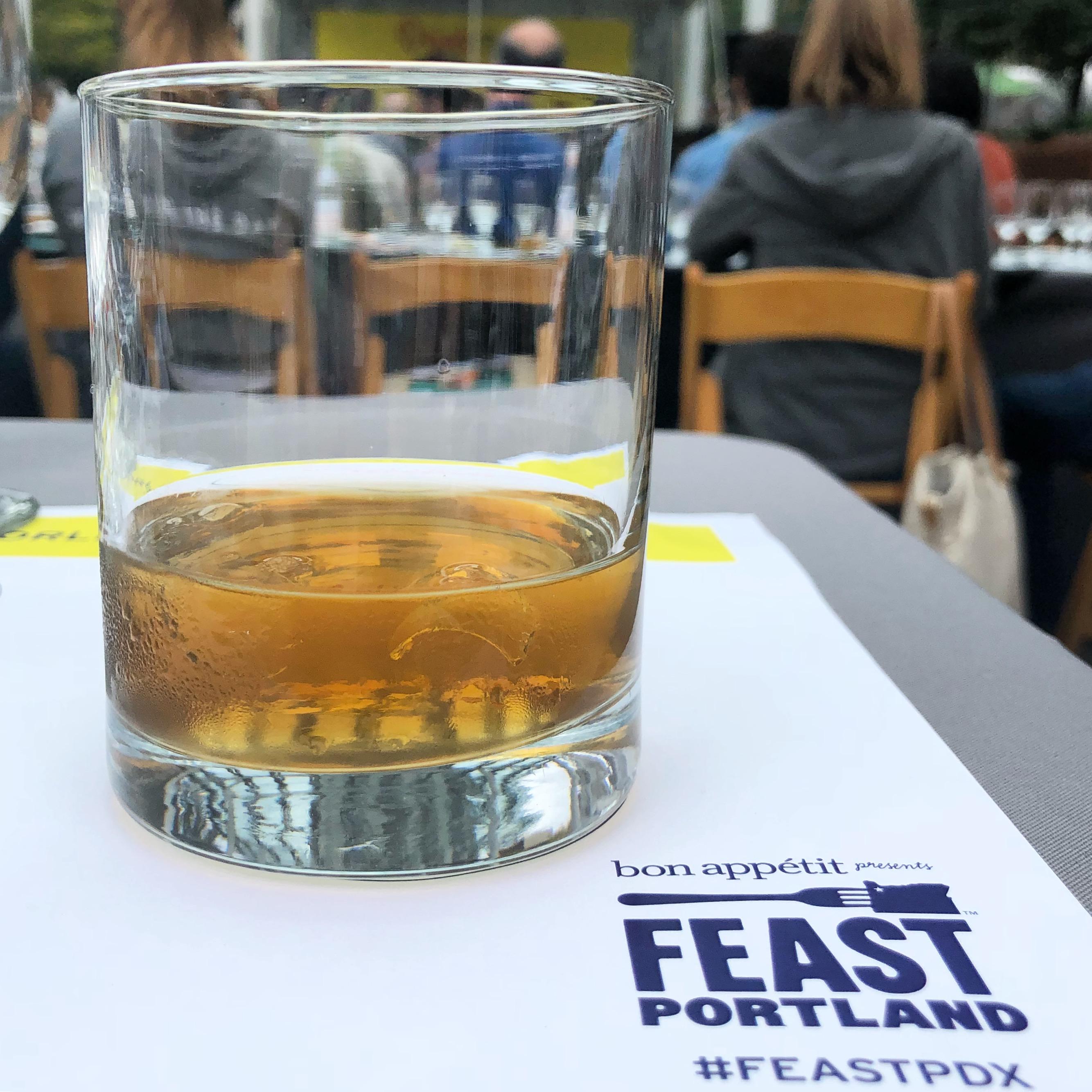 A mezcal at Drink Tank during Feast Portland 2018.