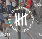 Baerlic Brewing 5th Anniversary
