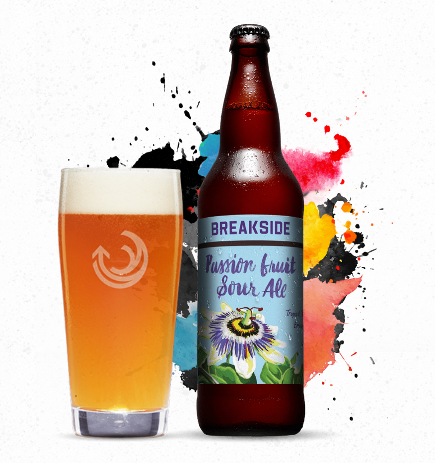 Breakside Brewery Passion Fruit Sour Ale