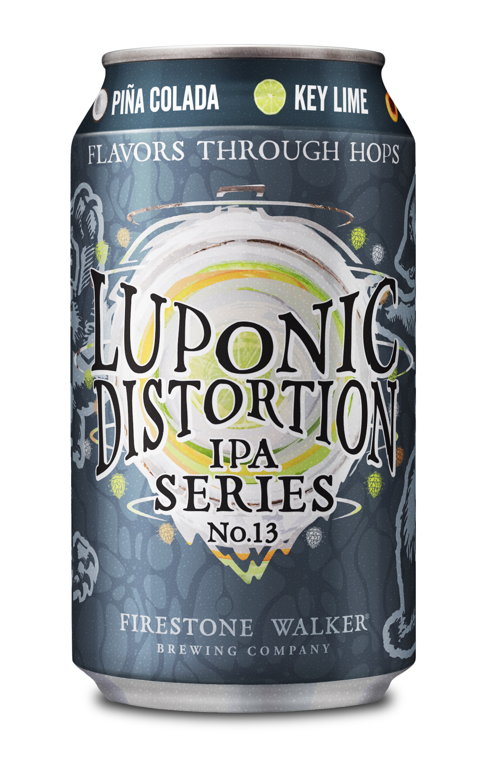FIrestone Walker Brewing Luponic Distortion No. 13 12oz Can