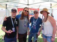 Gigantic Brewing made a return visit to the 2019 Firestone Walker Invitational Beer Fest in Paso Robles, California.