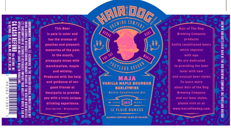 Hair of the Dog Brewing Maja