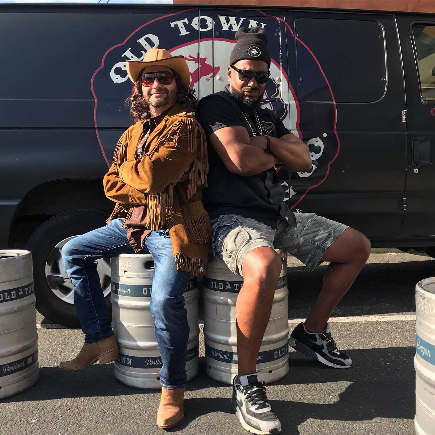 The making of Old Town Road - Beer Parody. (image courtesy of Old Town Brewing)