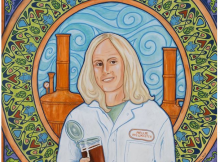 "artwork of Madeline ""Mellie"" Pullman courtesy of McMenamins"