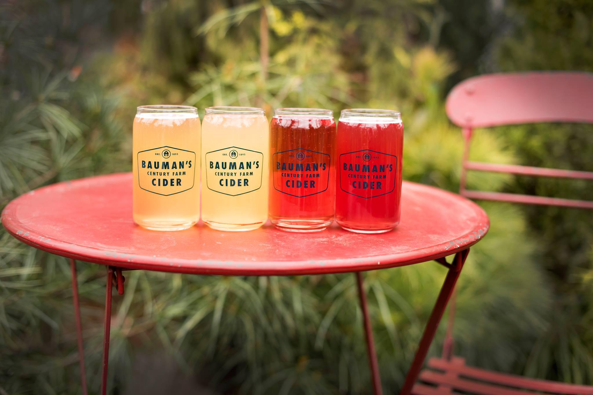 image courtesy of Bauman's Cider