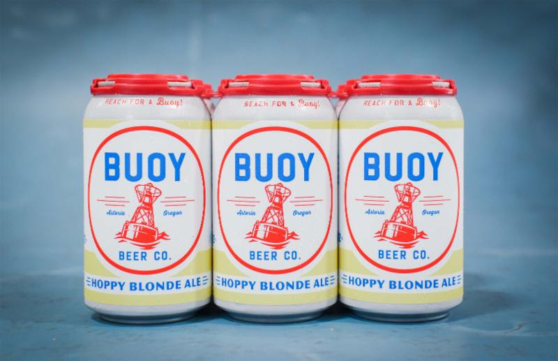 image of Hoppy Blonde Ale courtesy of Buoy Beer