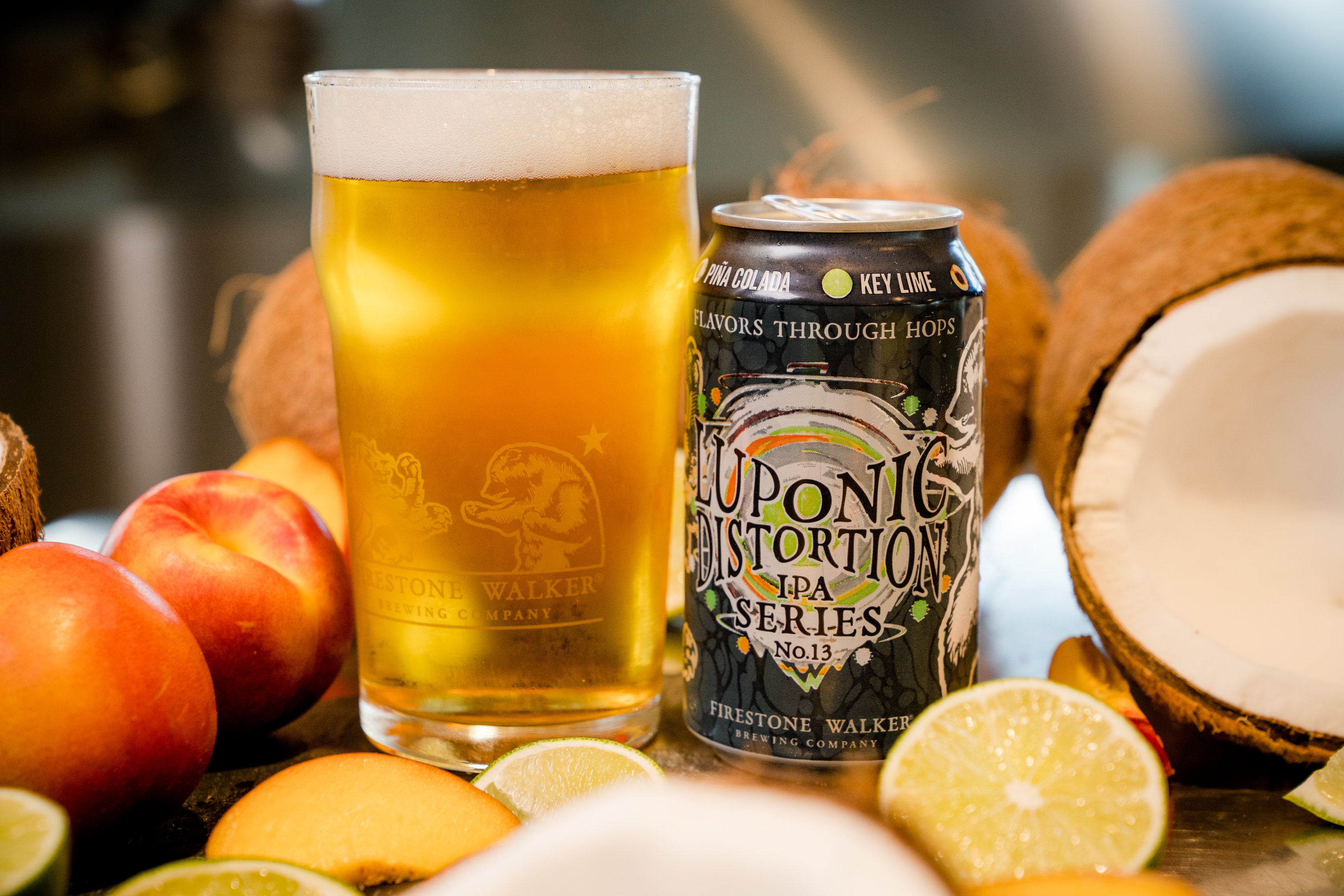 image of Luponic Distortion No. 13 courtesy of Firestone Walker Brewing