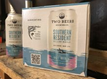 image of Southern Resident IPA courtesy of Two Beers Brewing Co.