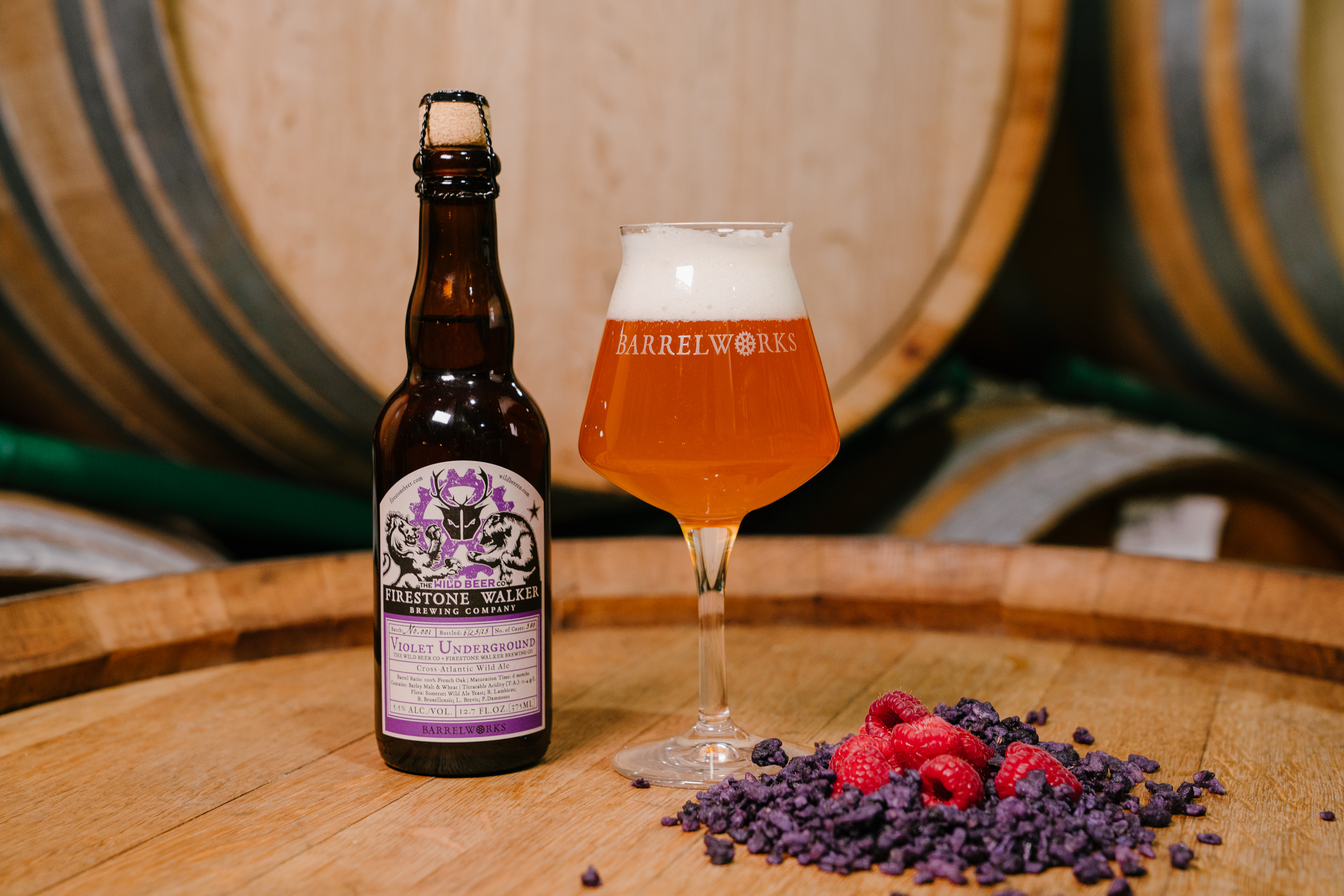 image of Violet Underground courtesy of Firestone Walker Brewing