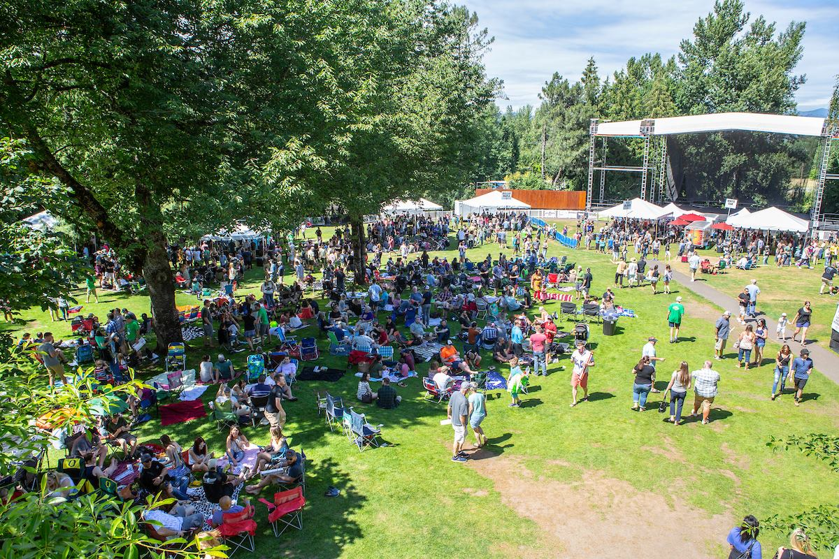 image of the McMenamins Edgefield Brewfest courtesy of McMenamins
