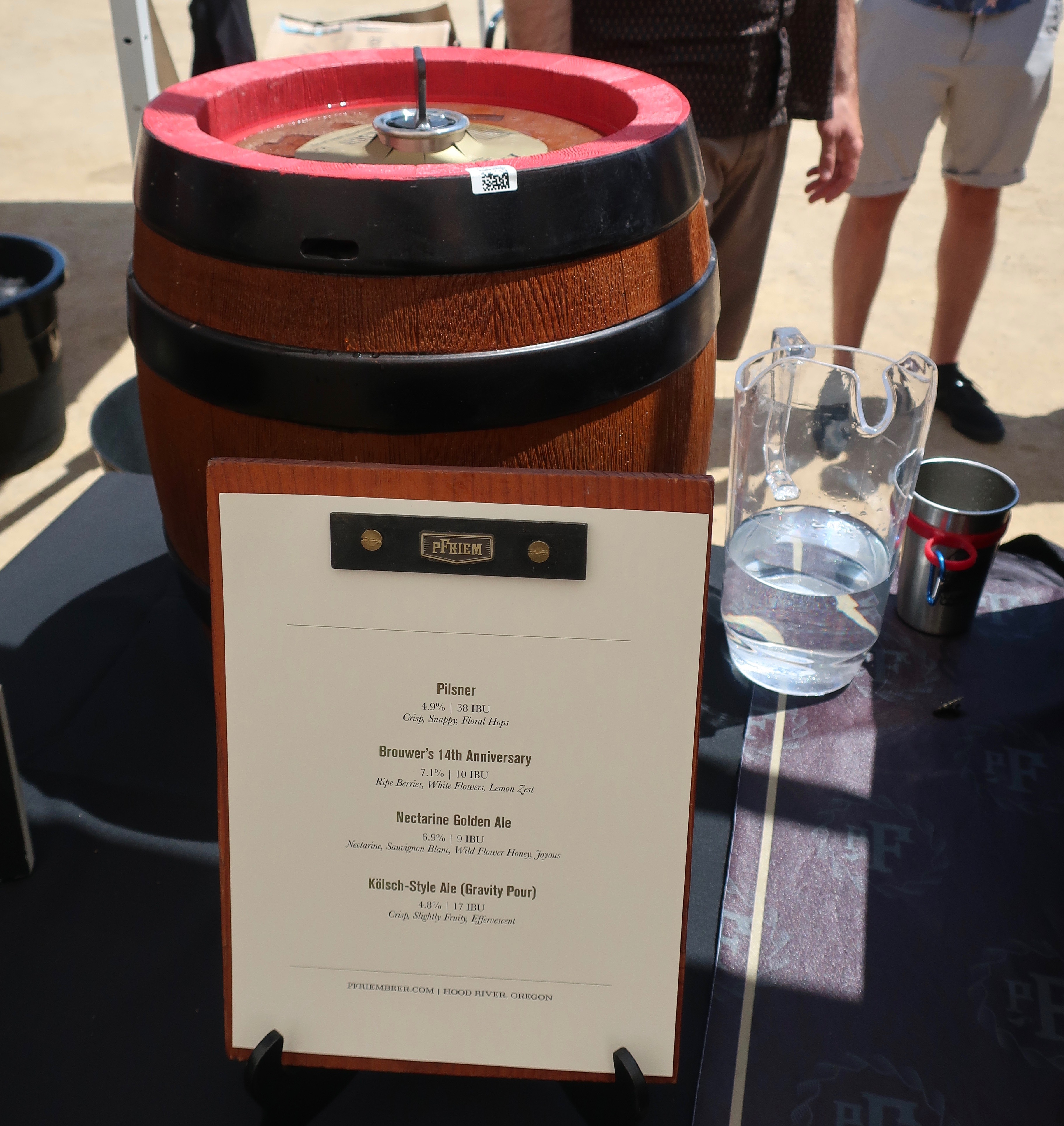 pFriem Family Brewers debuted its gravity fed keg that poured its Kölsch-Style Ale at the 2019 Firestone Walker Invitational Beer Fest.