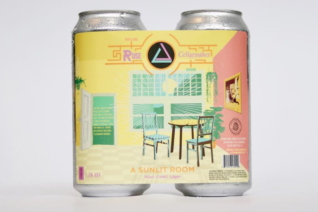 A Sunlit Room, a collaboration beer with Ruse Brewing and Cellarmaker Brewing