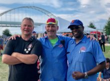 Co-founders of the Portland Craft Beer Festival - Chris Rhodes, Joseph Sundberg, Rodney Woodley. (photo by Cat Stelzer)