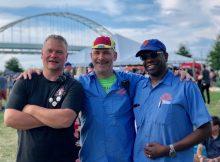 Co-founders of the Portland Craft Beer Festival - Chris Rhodes, Joseph Sundberg, Rodney Woodley. (photo by Cat Stelzer)