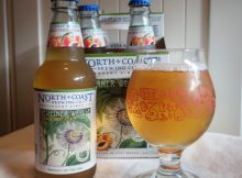 Passion Fruit-Peach Berliner Weisse from North Coast Brewing Co.