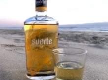 Suerte Anejo Tequila on the Oregon Coast.