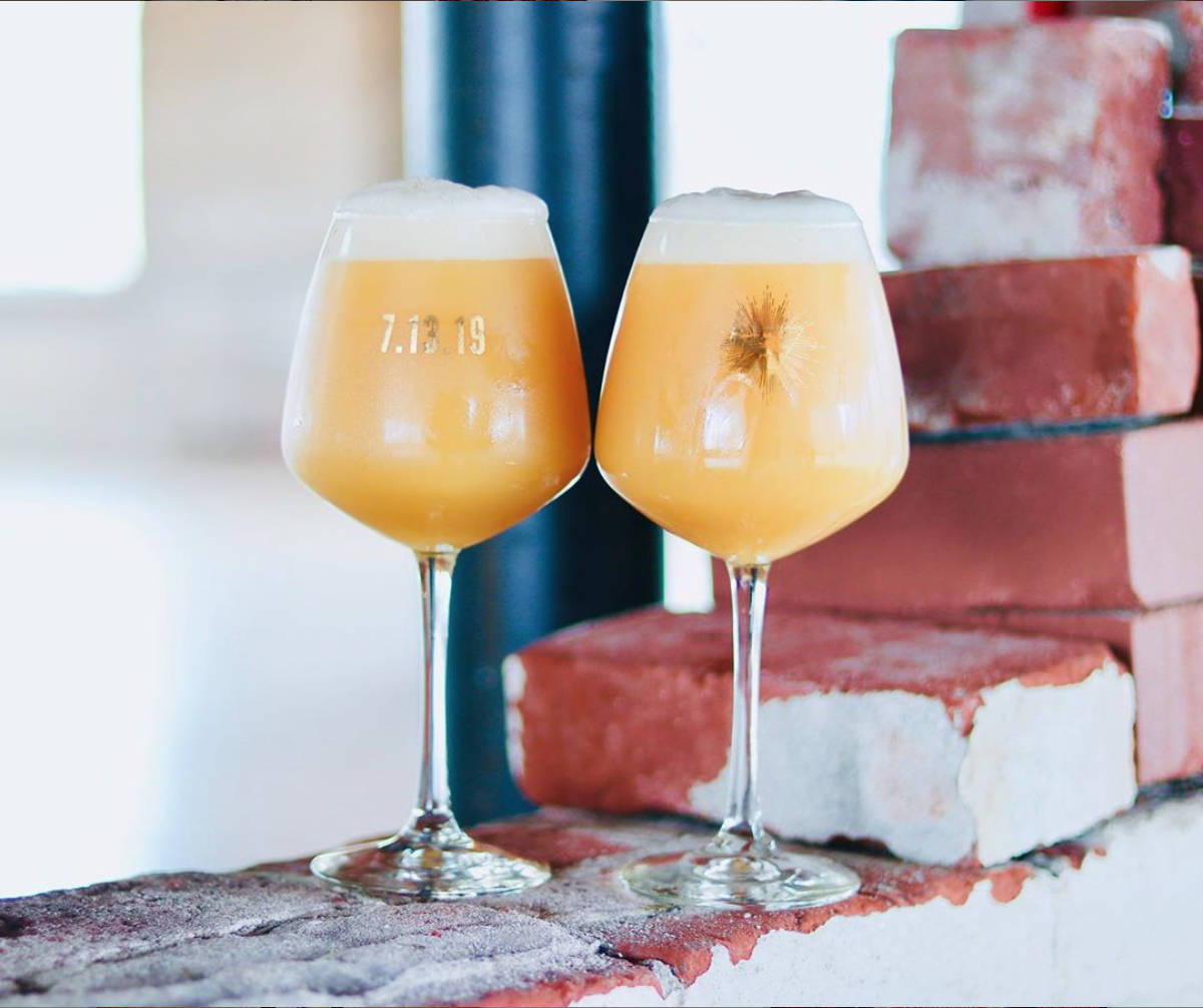 image of Anniversary Glassware courtesy of Ruse Brewing
