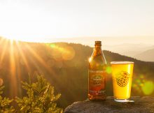 image of Double Mountain Brewery & Barley Brown's Beer Coyote Sunset IPA courtesy of Double Mountain Brewery