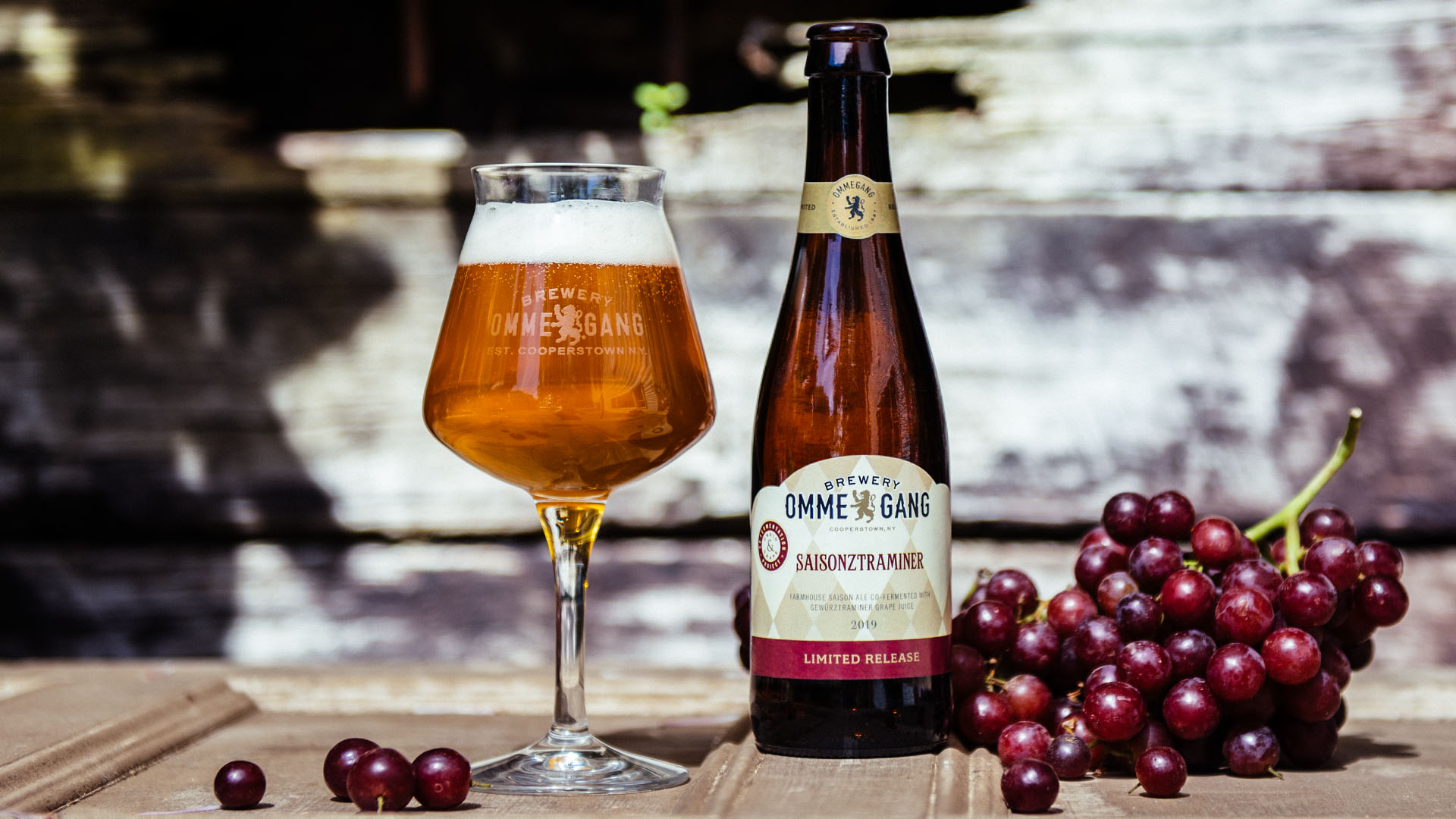 image of Saisonztraminer courtesy of Brewery Ommegang