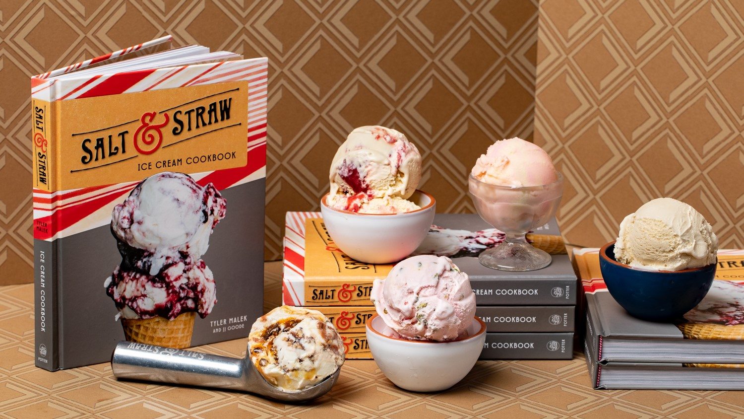 image of Salt & Straw Ice Cream Cookbook courtesy of Salt & Straw