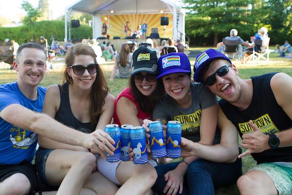 image of Sundown Grand Ol' Country Festival courtesy of McMenamins