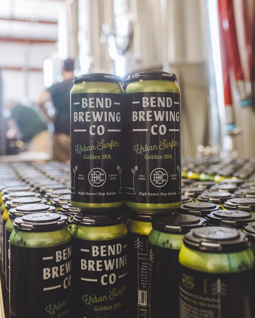 Bend Brewing Releases Urban Surfin' Golden IPA in 16oz Cans