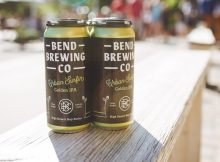 image of Urban Surfin' Golden IPA courtesy of Bend Brewing Co.