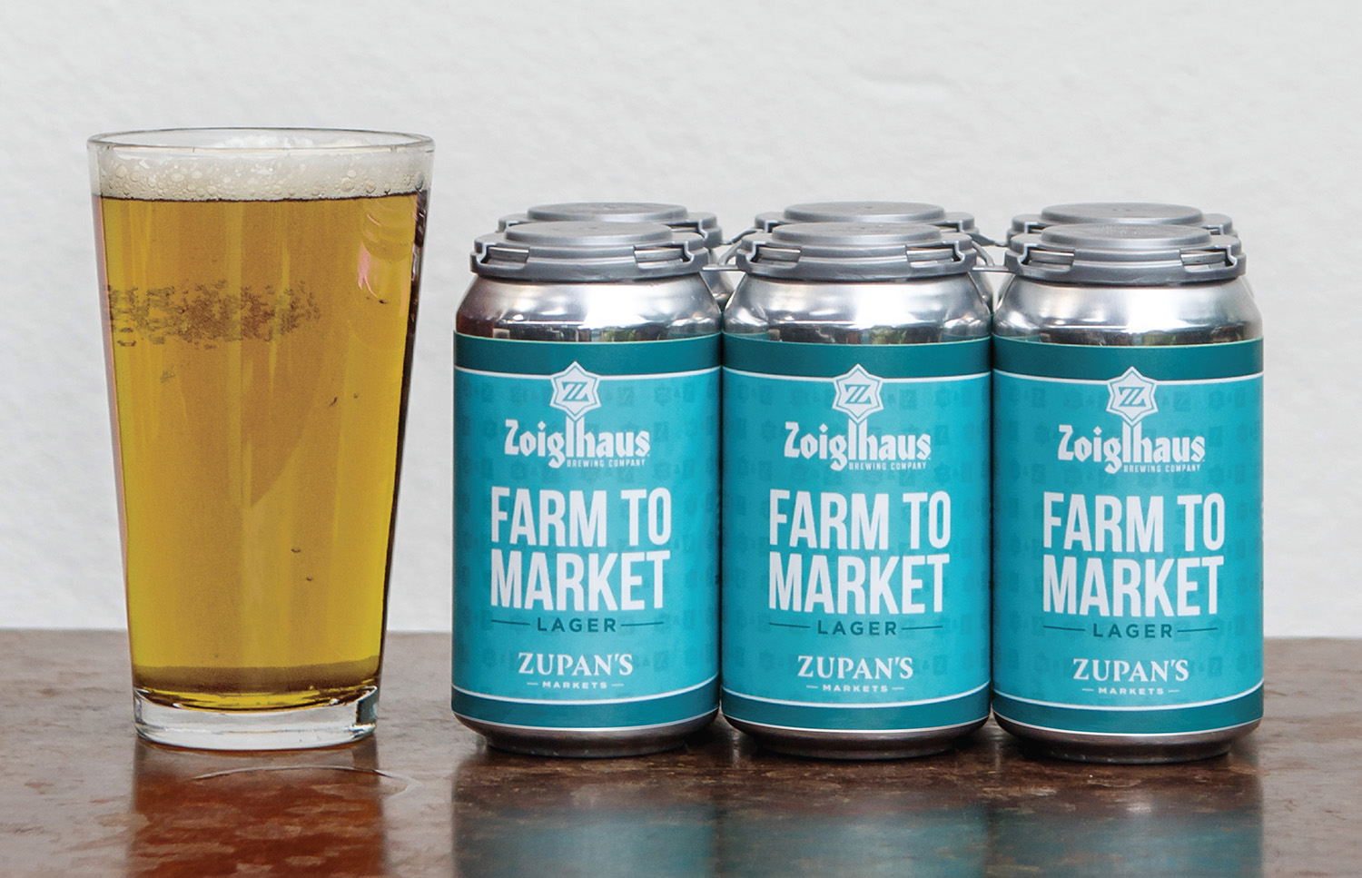 image of Zoiglhaus Farm to Market Lager courtesy of Zupan's Market